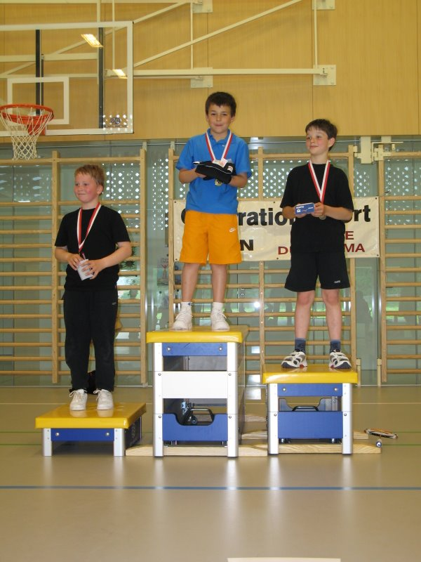 Podium juniors I 2009