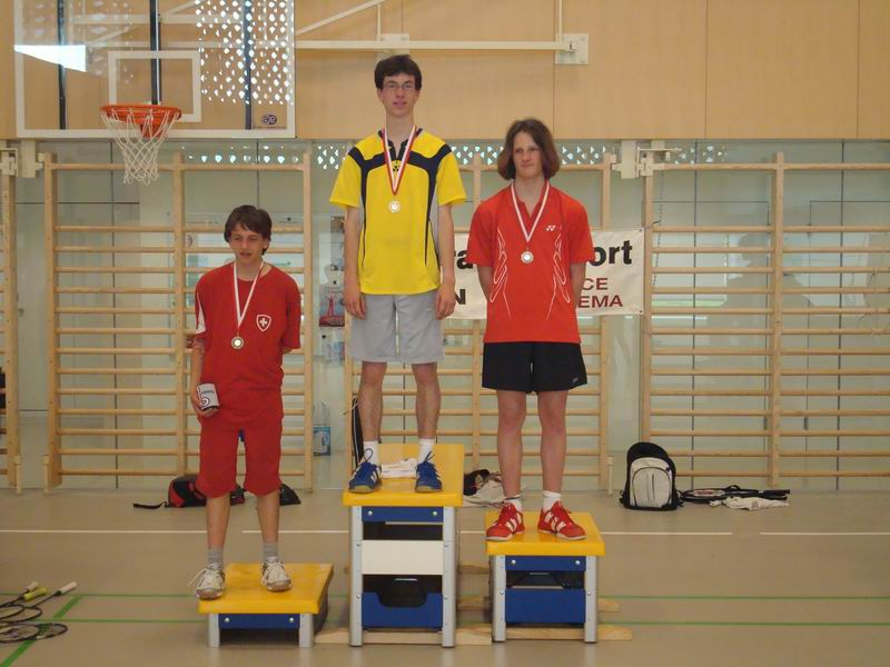 Podium juniors III 2009