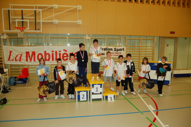 Podium juniors I 2009 / 2010