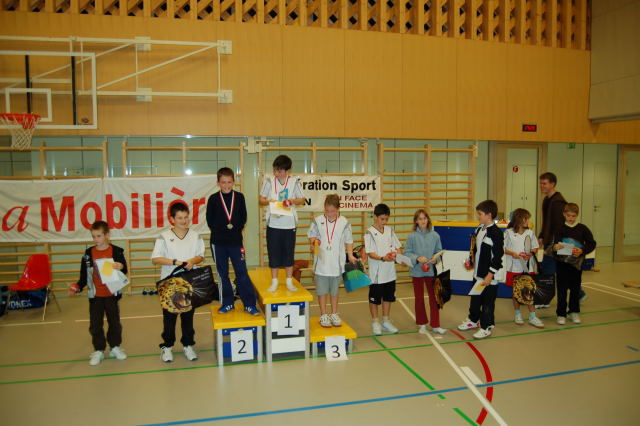 Tournoi interne 2009 / 2010