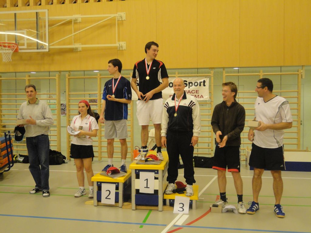 Tournoi interne 2010 / 2011