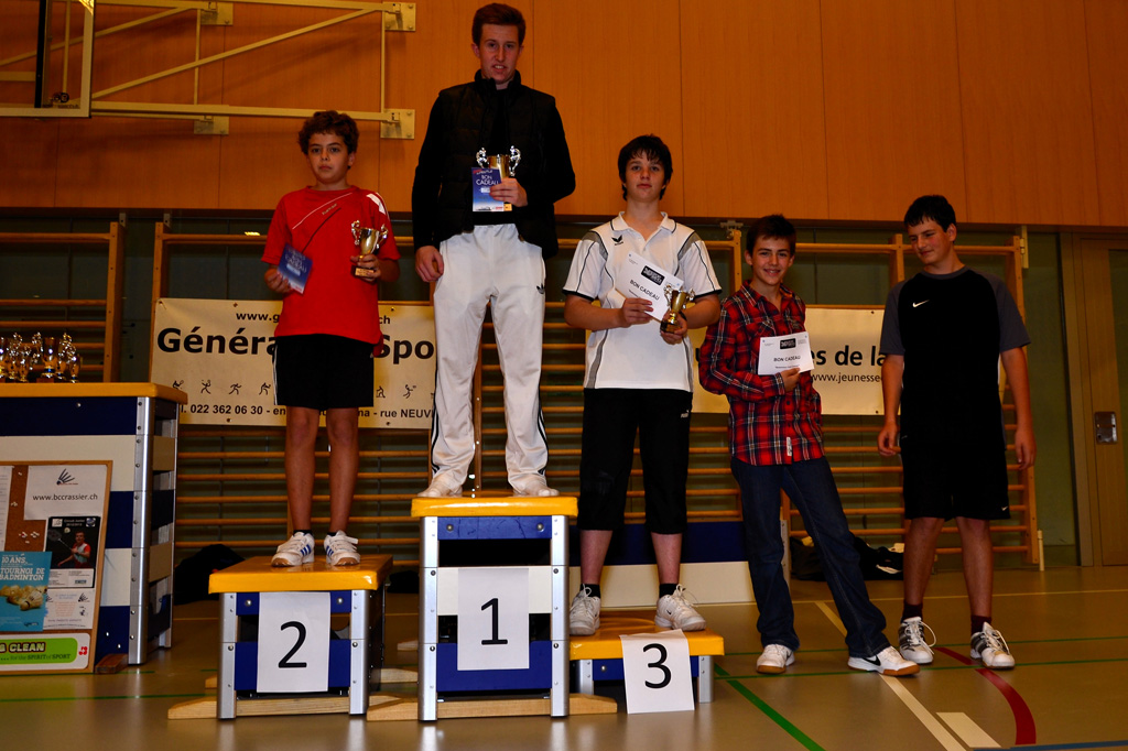 Tournoi interne 2011 / 2012