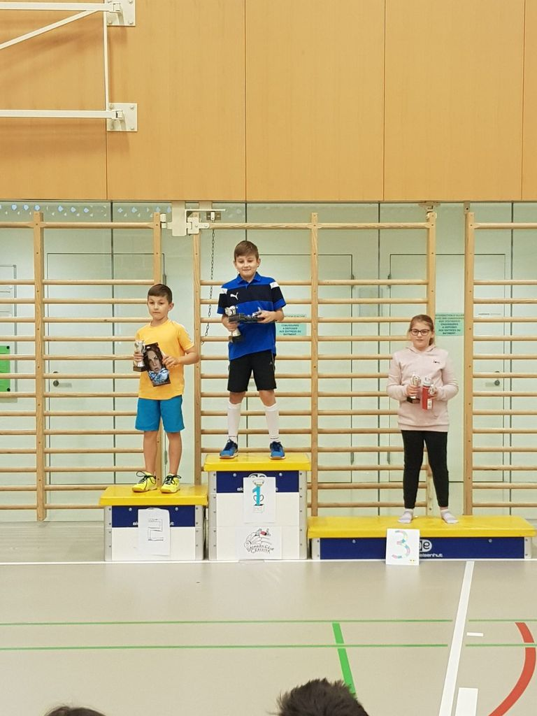 Podium juniors I 2017/18